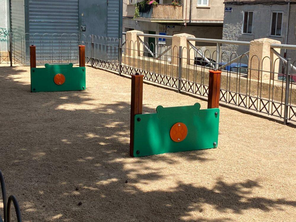 Parque canino Los Jardinillos de San Roque (Segovia)